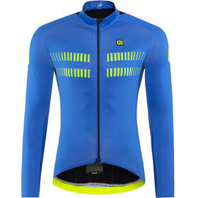 Alé Cycling Clima Protection 2.0 Warm Air Langermede Sykkeltrøyer Herre Blå
